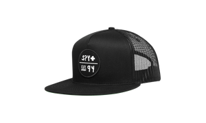 Spy Optic Lobby Mesh Black Snapback Trucker Hat