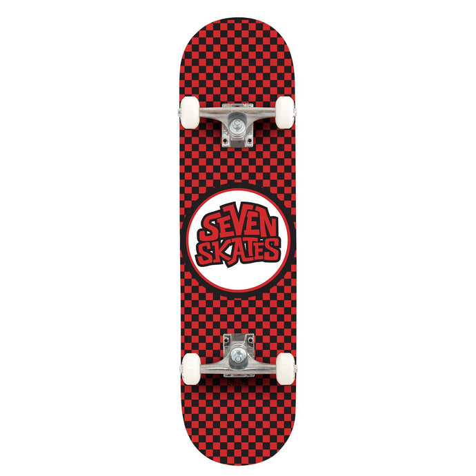 Seven Skates Checkered Red 7.25