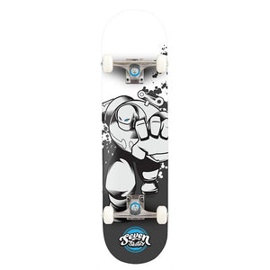 "Seven Skates Wind Up Robot V2 7.25"" Skateboard"