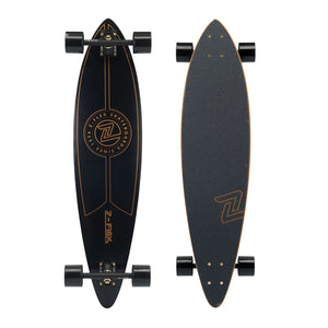Z-Flex Top Shelf Gold Longboard Skateboard