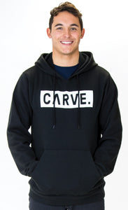 CARVE JUSTICE MENS HOODIE WITH PRINT FRONT
