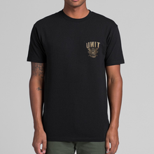 Unit Mens TEE Herald T-Shirt - Black
