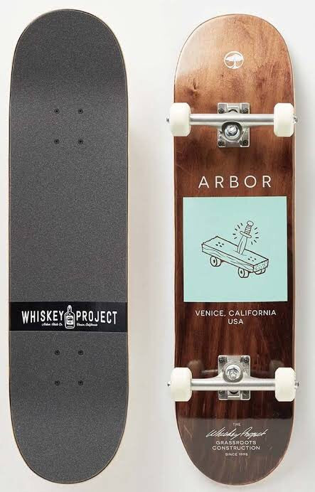 Arbor Complete Skateboard Team Whiskey 8