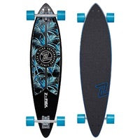 Z-Flex Pintail Complete Longboard Skateboard Night Jungle
