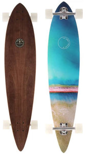 """Arbor Complete Longboard Skateboard - Timeless 42"""" Photo - Walnut"""