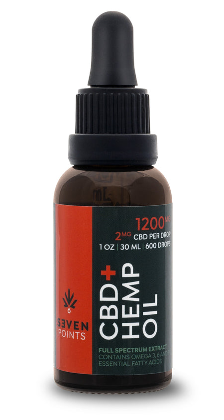 Seven Points CBD 1200mg Tincture