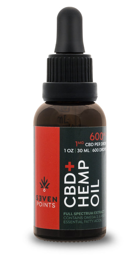 Seven Points CBD 600mg Tincture