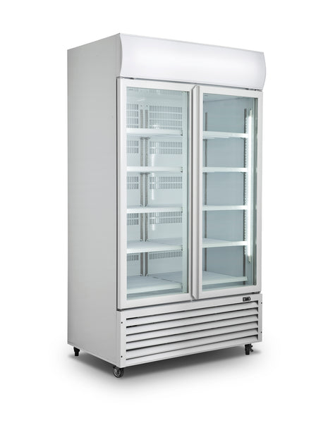 Me D10 Two Glass Door Refrigerator Commercial Crsa Direct
