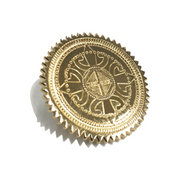 Molowo Round Lapel Pin - Molowo Clothing