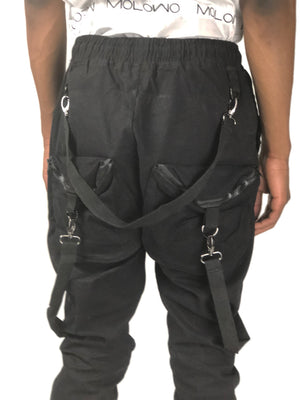 Molowo Triple Strap Utility Pants - Molowo Clothing