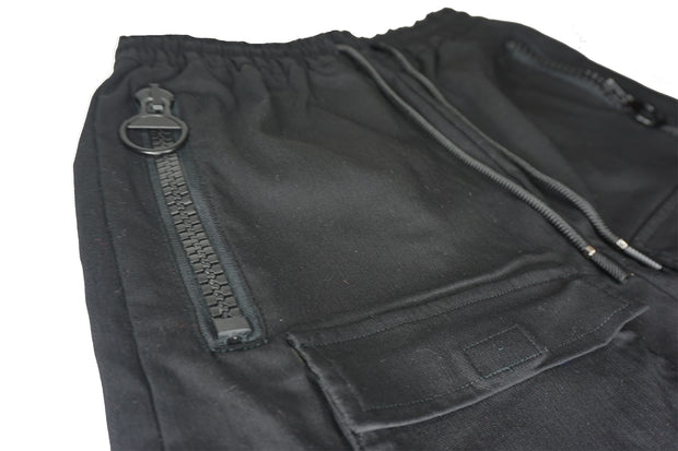 Molowo Double Round Zipper Pants