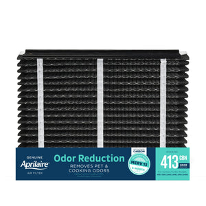 Aprilaire 413CBN Odor Reduction Air Filter for Aprilaire Whole-Home Air Purifiers, MERV 13, for Odors and Most Common Allergens