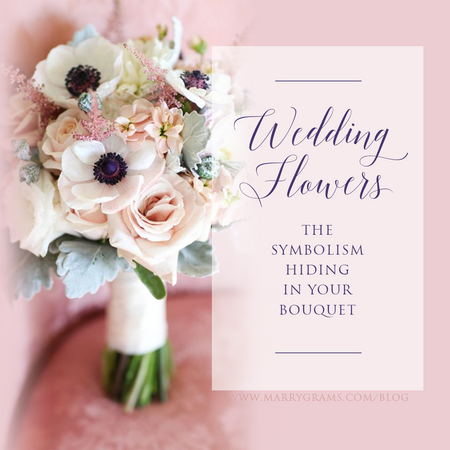 Wedding Flowers - The Symbolism Hiding in Your Bouquet