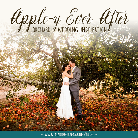 Orchard Wedding Inspiration - Your Apple-y Ever After