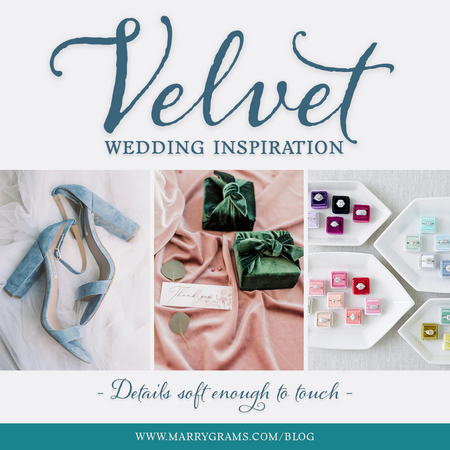 Velvet Wedding Inspiration - Details Soft Enough to Touch
