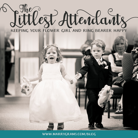 The Littlest Attendants - Keeping Your Flower Girl and Ring Bearer Happy