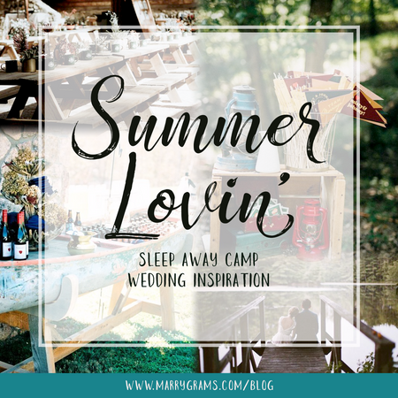 Summer Lovin' - Sleep Away Camp Wedding Inspiration