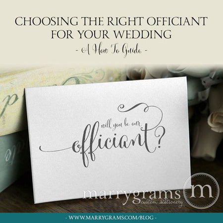 Choosing the Right Officiant for Your Wedding - A How to Guide