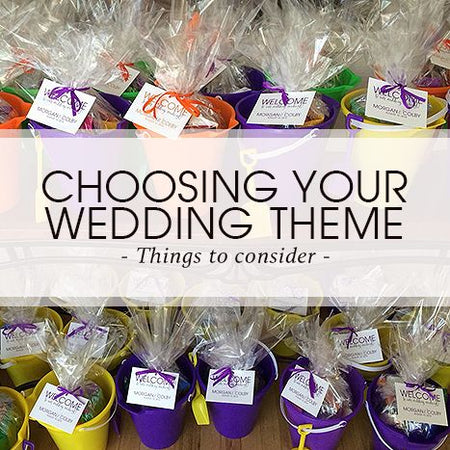 Choosing your Wedding Theme - Things to Consider