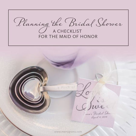 Planning the Bridal Shower - A Checklist for the Maid of Honor
