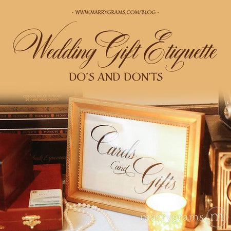 Wedding Gift Etiquette - Dos and Don'ts