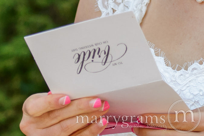 Bride and Groom Cards - Little Love Notes for Your Big Day