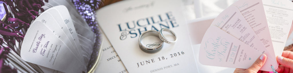Wedding Programs: Which Style is Right for You?