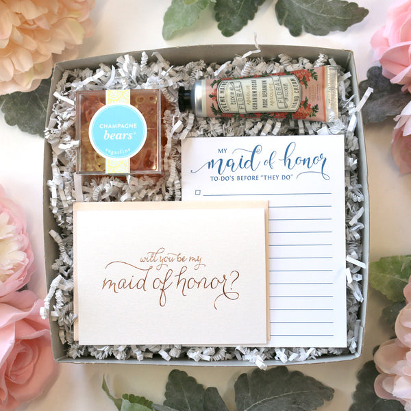 Will you be my bridesmaid, maid of honor, matron cards for bridal party