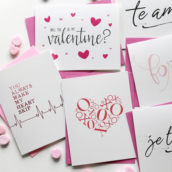 Valentine's day cards for the one you love!