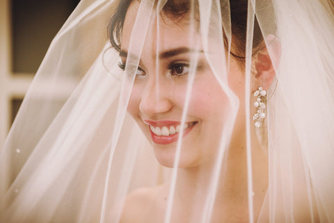 wedding superstition bridal veil