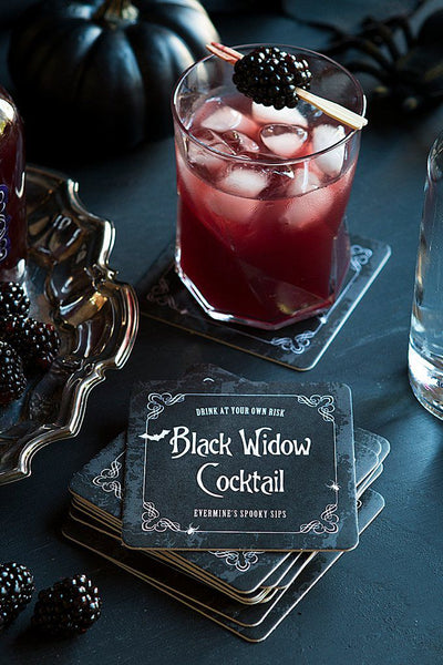 halloween wedding cocktail