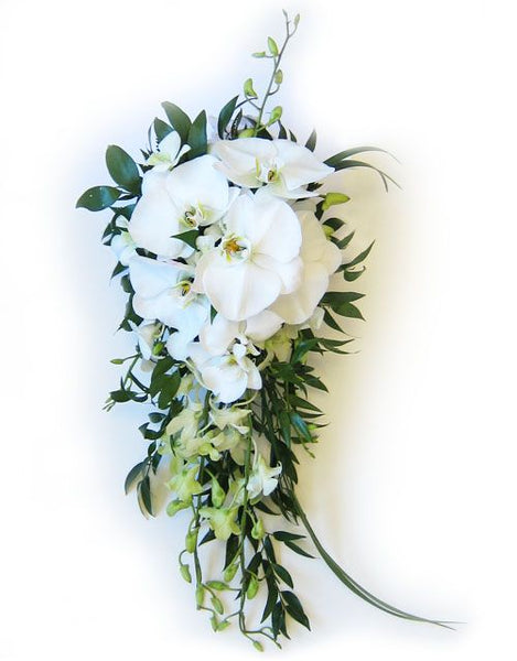 orchid wedding flowers bouquet
