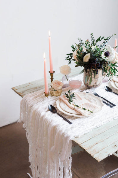 wedding trends 2019 table settings