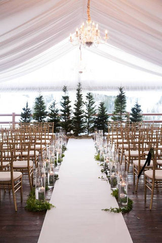 winter wedding ceremony venue