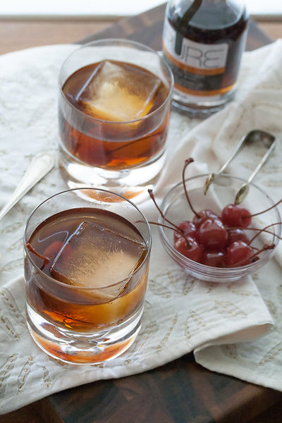 maple manhattan fall wedding signature cocktails
