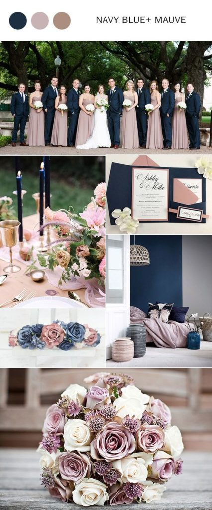 Wedding Color Palettes.Wedding Color Palette Inspiration For 2018 Trends We Love