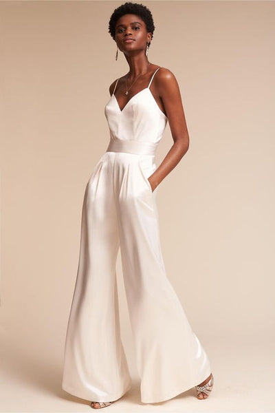 wedding dress alternative jumpsuit