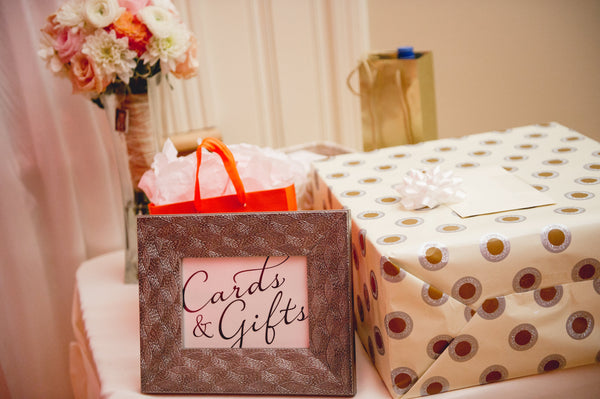 cards and gifts wedding registry etiquette ideas