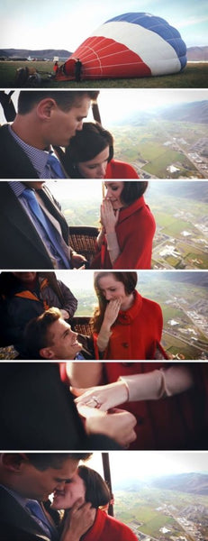 proposal ideas hot air balloon