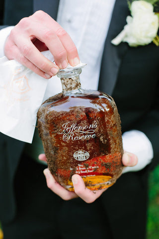 wedding superstition burying bourbon