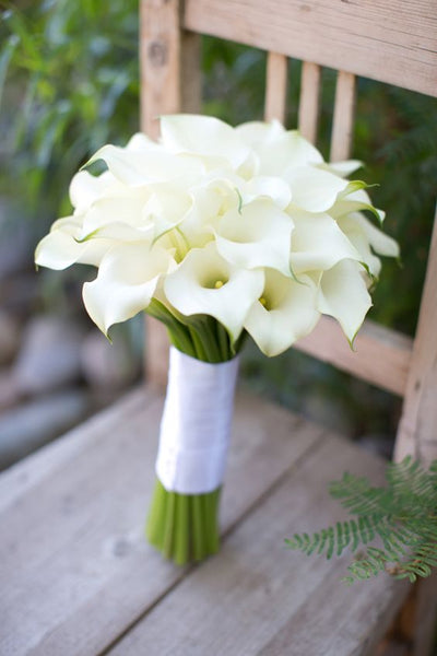 calla lily wedding flowers