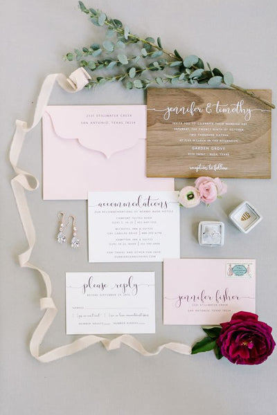 wedding invitation how to