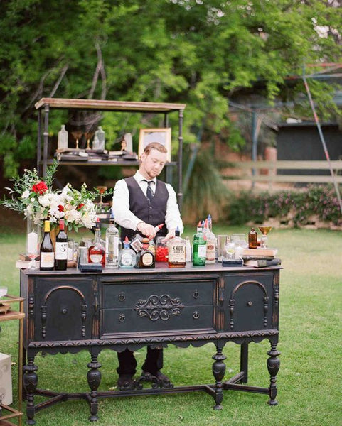 mixology bar wedding trends 2019 cocktails