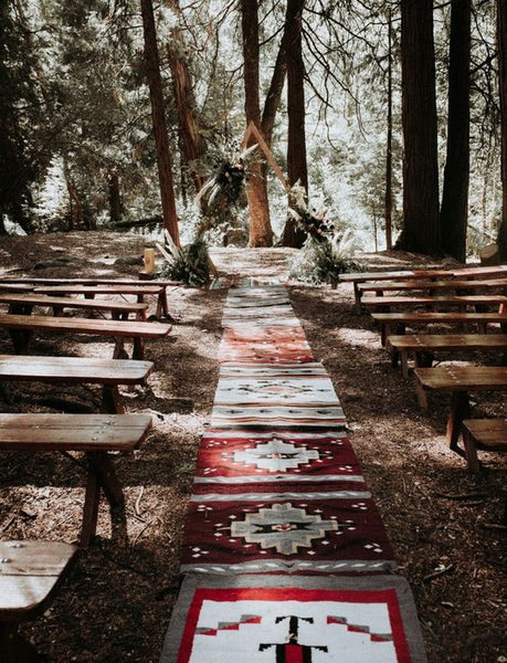 summer camp wedding venue ceremony