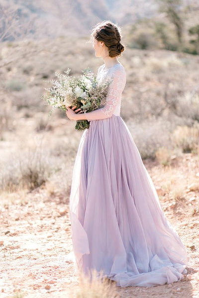 lilac wedding gown spring 2019