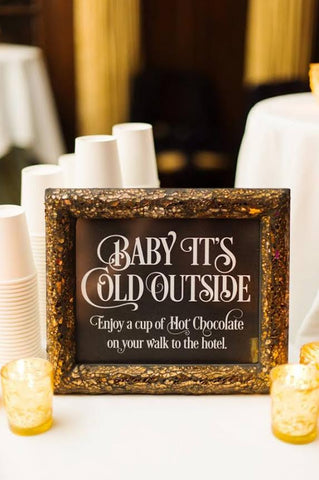 enchanting wedding signs