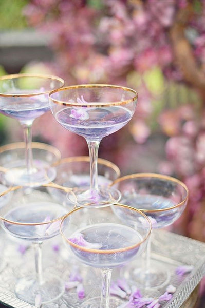 lilac cocktail wedding inspiration