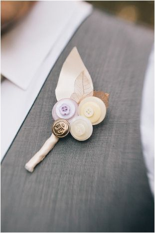 button boutonniere flower alternative groom