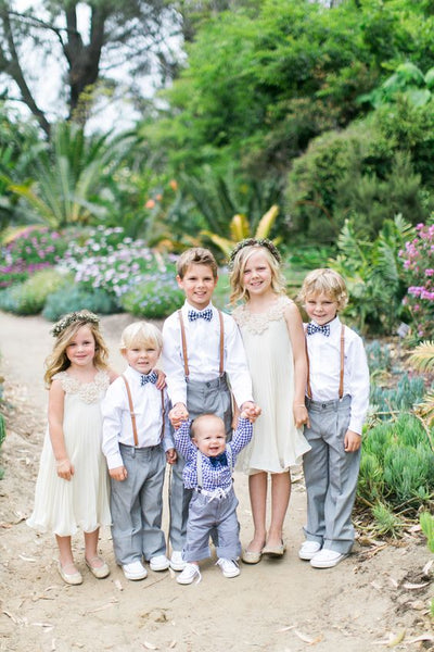 flower girl ring bearers bridal party