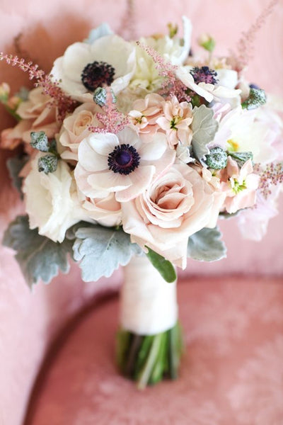 poppy wedding bouquet